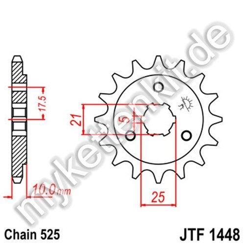 Ritzel JT Sprockets JTF1448