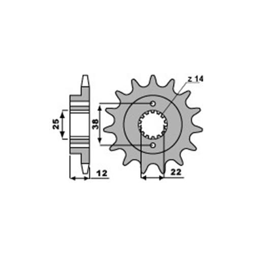 Ritzel PBR2104