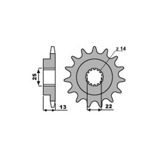 Ritzel PBR2201