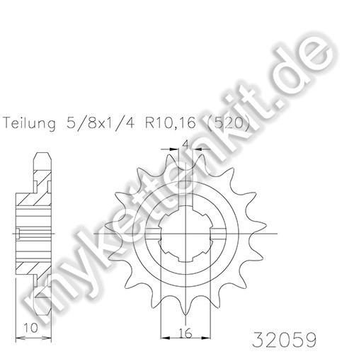 Ritzel Esjot R50-32059