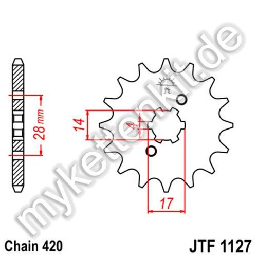 Ritzel JT Sprockets JTF1127