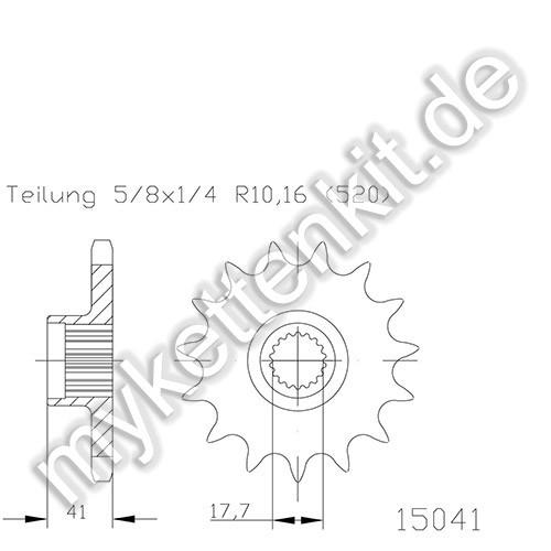 Ritzel Esjot R50-15041