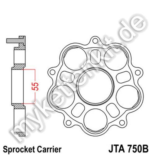 Kettenradträger JTA750B