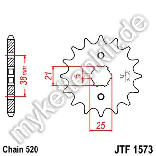 Ritzel JT Sprockets JTF1573