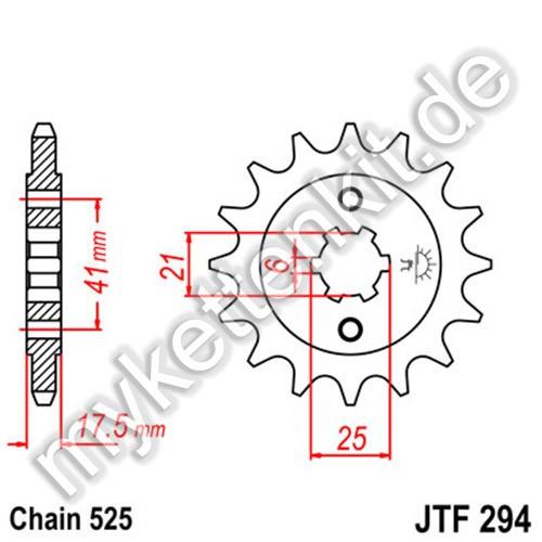 Ritzel JT Sprockets JTF294