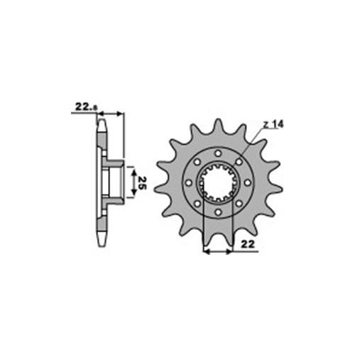 Ritzel PBR2252