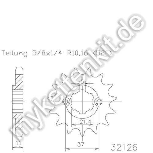Ritzel Esjot R50-32126