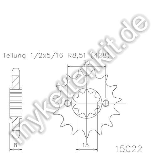 Ritzel Esjot R50-15022