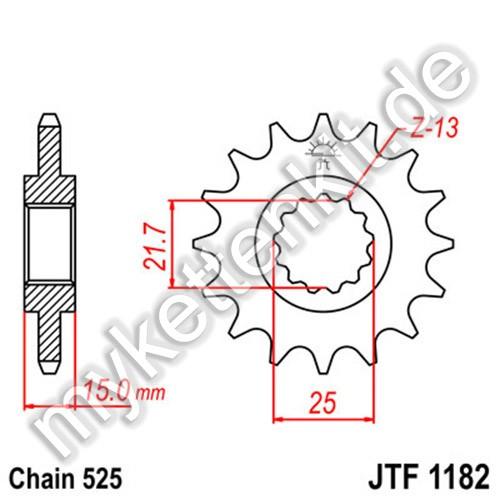 Ritzel JT Sprockets JTF1182
