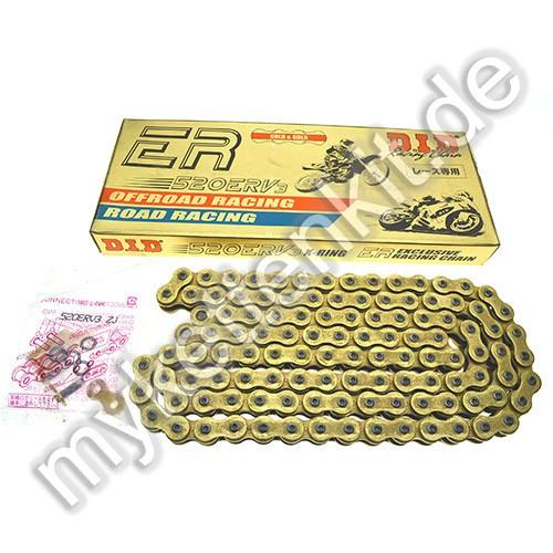 DID X-Ring Kette 520 ERV3 G&G gold/gold