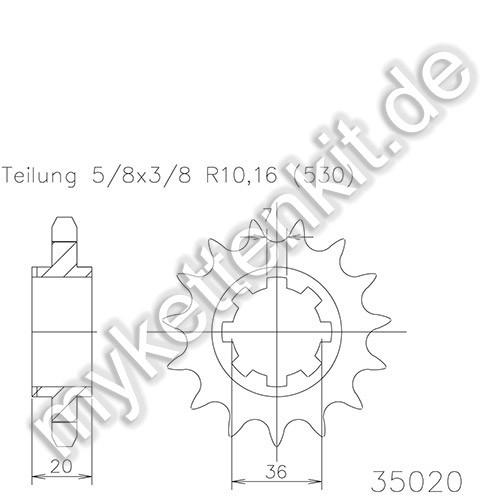 Ritzel Esjot R50-35020