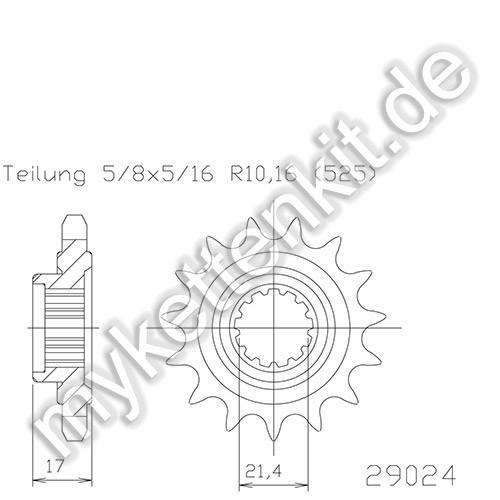 Ritzel Esjot R50-29024
