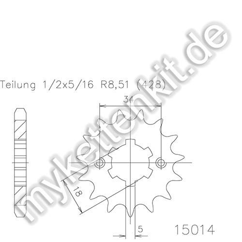 Ritzel Esjot R50-15014