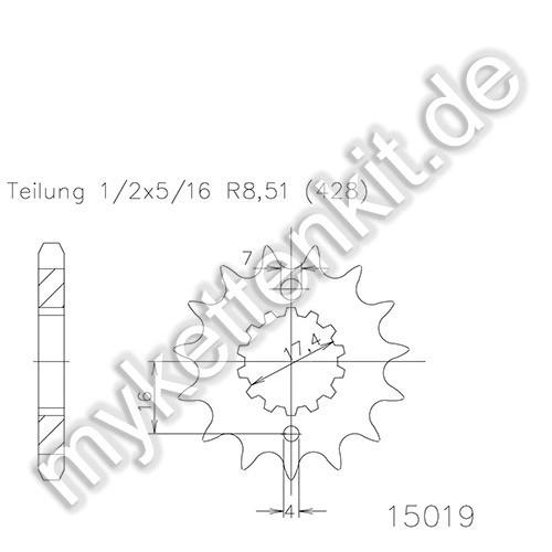 Ritzel Esjot R50-15019