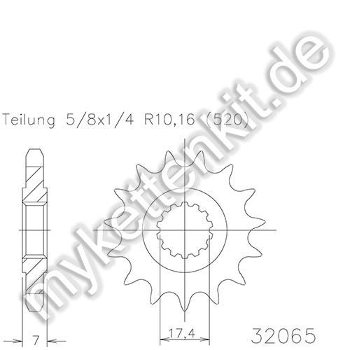 Ritzel Esjot R50-32065