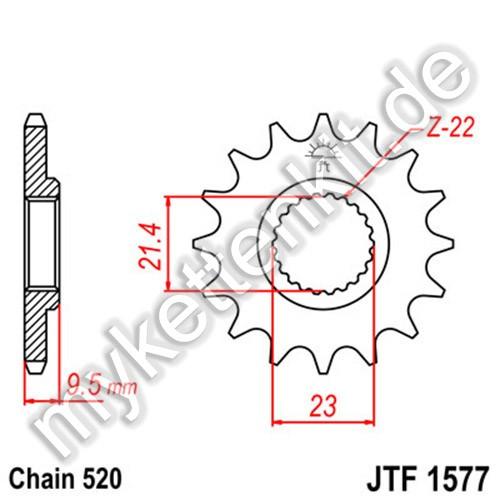 Ritzel JT Sprockets JTF1577