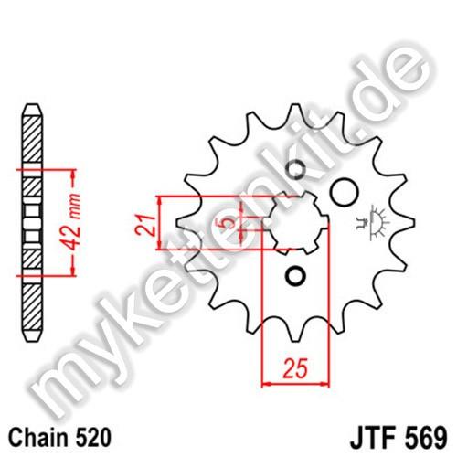Ritzel JT Sprockets JTF569