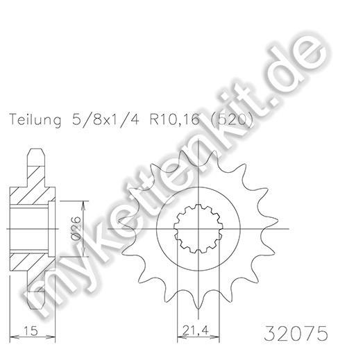 Ritzel Esjot R50-32075