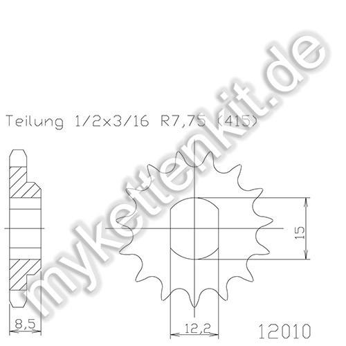Ritzel Esjot R50-12010