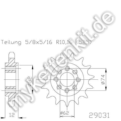 Ritzel Esjot R50-29031