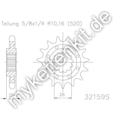 Ritzel Esjot R50-32159