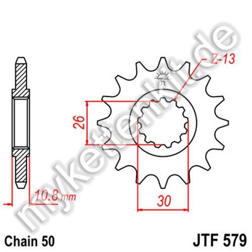 Ritzel JT Sprockets JTF579