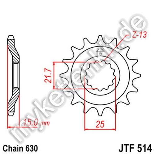Ritzel JT Sprockets JTF514