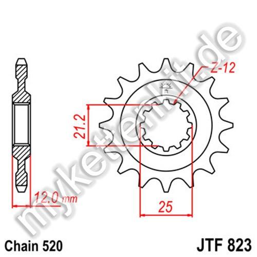 Ritzel JT Sprockets JTF823