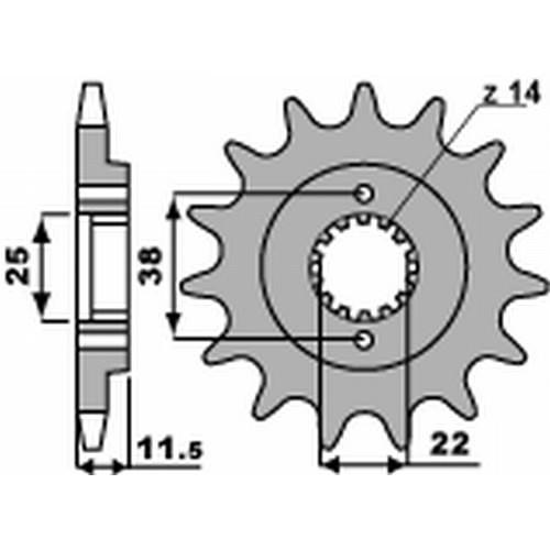 Ritzel PBR7004