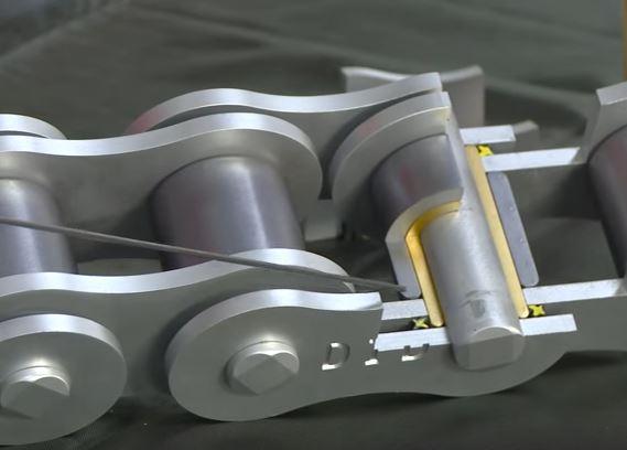 offen mit Clipschloss JT Kette 428 X1R X-Ring 142 Glieder