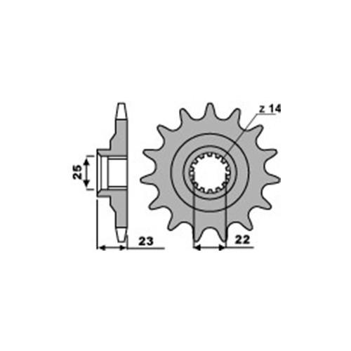 Ritzel PBR548