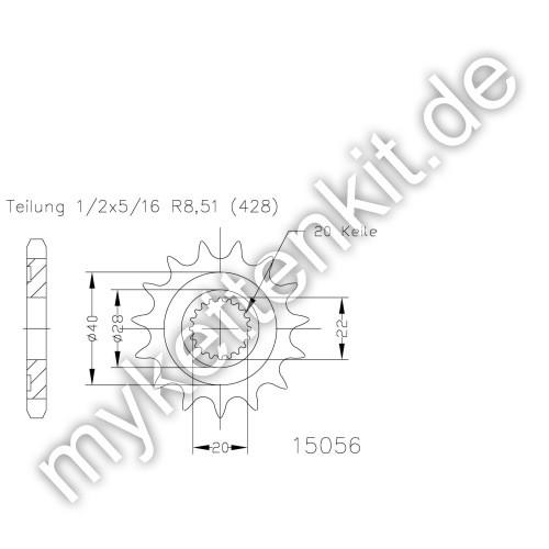 Ritzel Esjot R50-15056