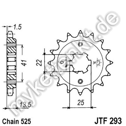Ritzel JT Sprockets JTF293