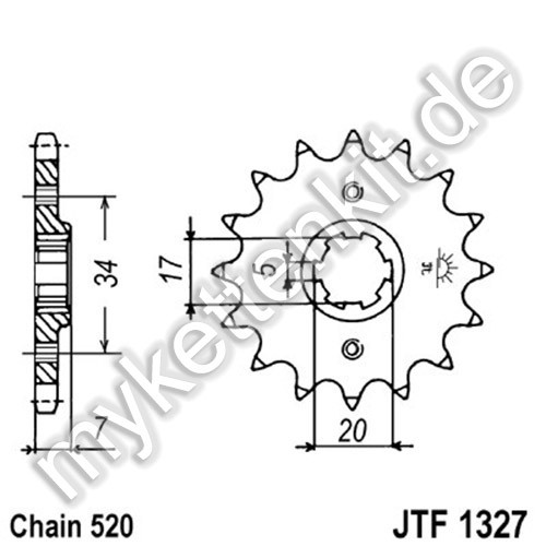Ritzel JT Sprockets JTF1327