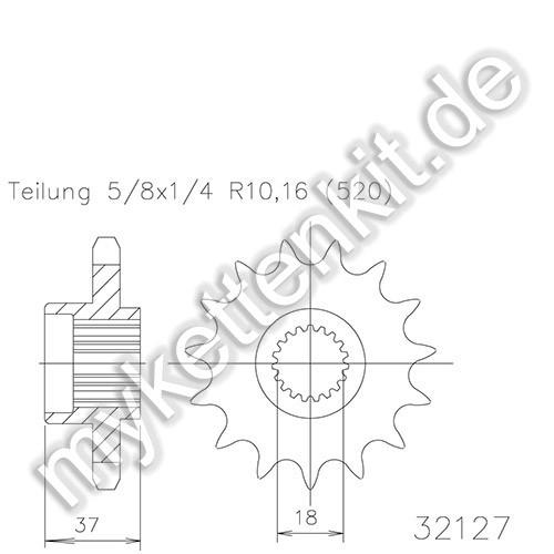 Ritzel Esjot R50-32127