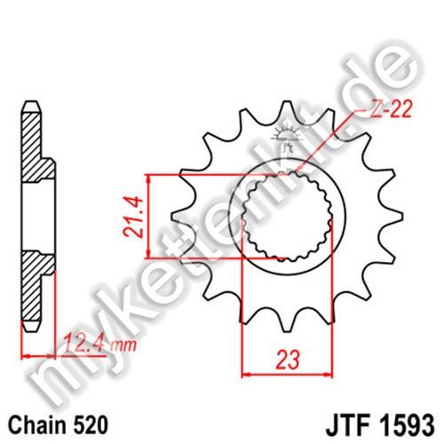 Ritzel JT Sprockets JTF1593
