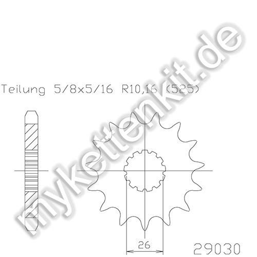 Ritzel Esjot R50-29030
