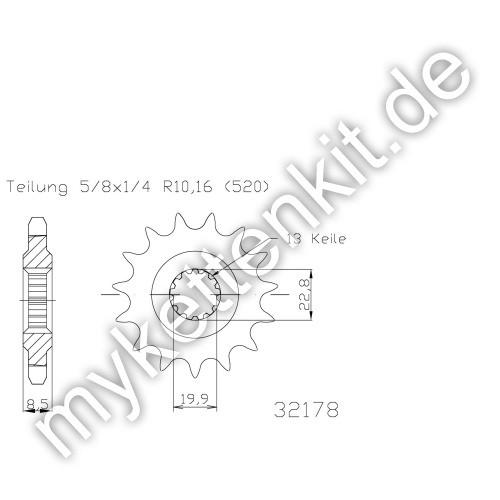 Ritzel Esjot R50-32178