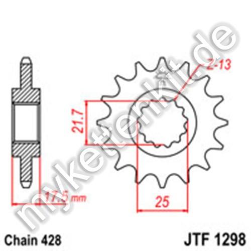 Ritzel JT Sprockets JTF1298