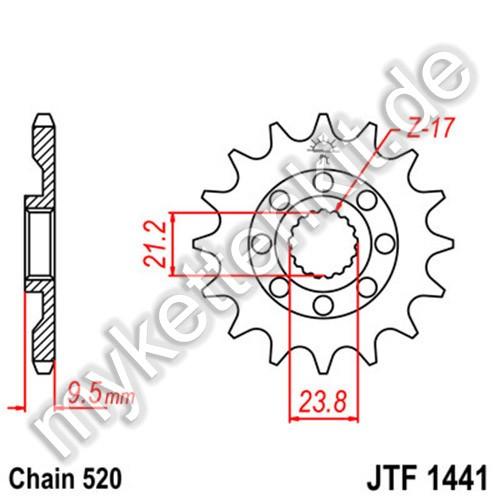 Ritzel JT Sprockets JTF1441