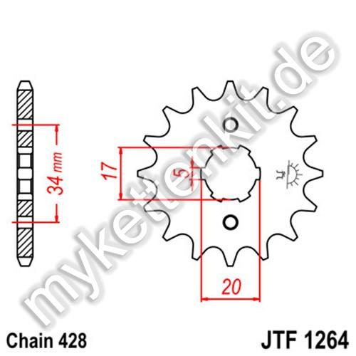 Ritzel JT Sprockets JTF1264