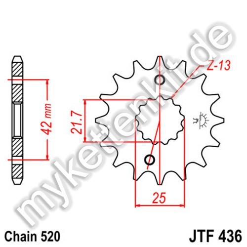 Ritzel JT Sprockets JTF436