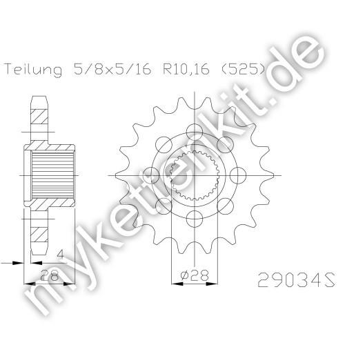 Ritzel Esjot R50-29034