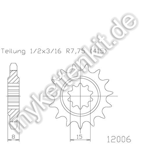Ritzel Esjot R50-12006