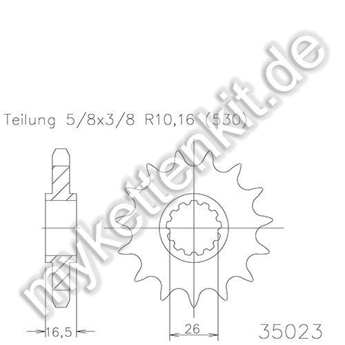 Ritzel Esjot R50-35023