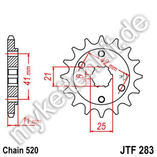 Ritzel JT Sprockets JTF283