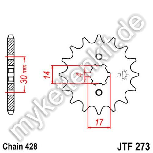 Ritzel JT Sprockets JTF273