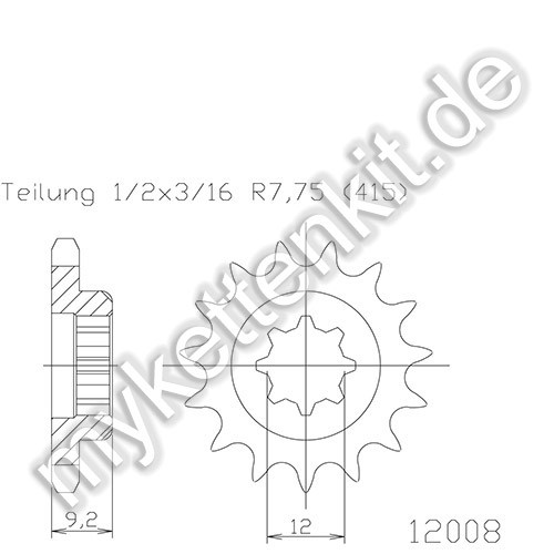Ritzel Esjot R50-12008